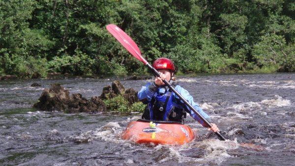 3 star river kayak traning