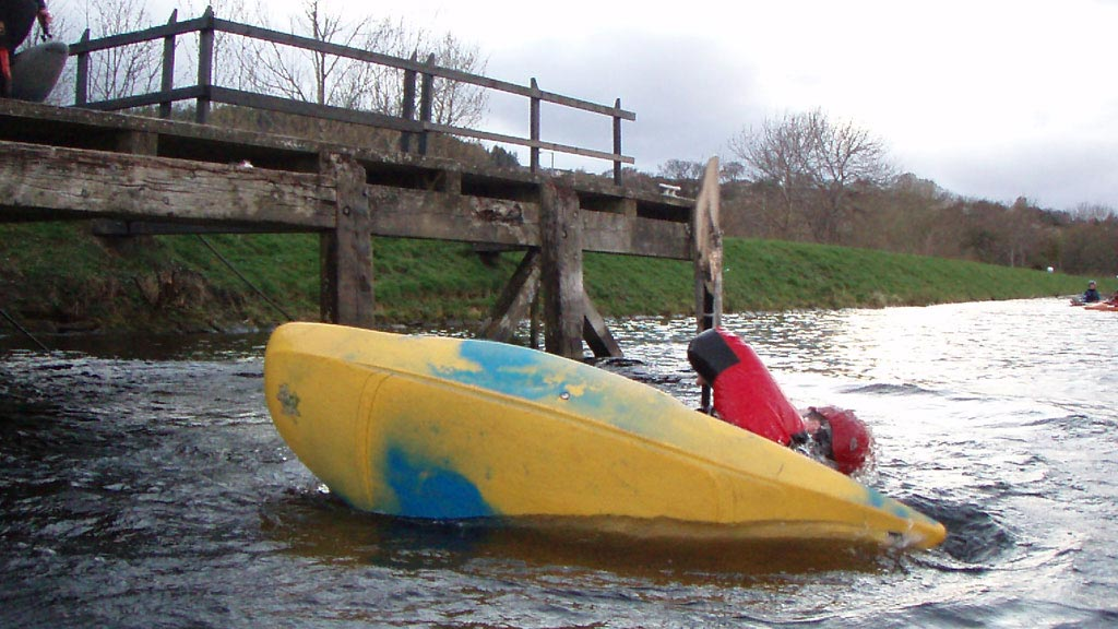 3 star river kayak traning