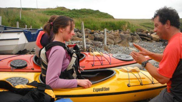 sea kayak coaching