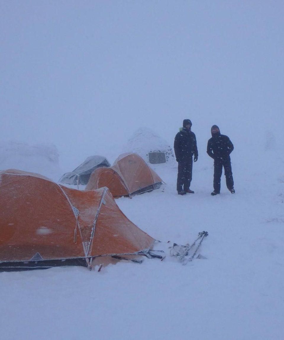 Ben Nevis Camping