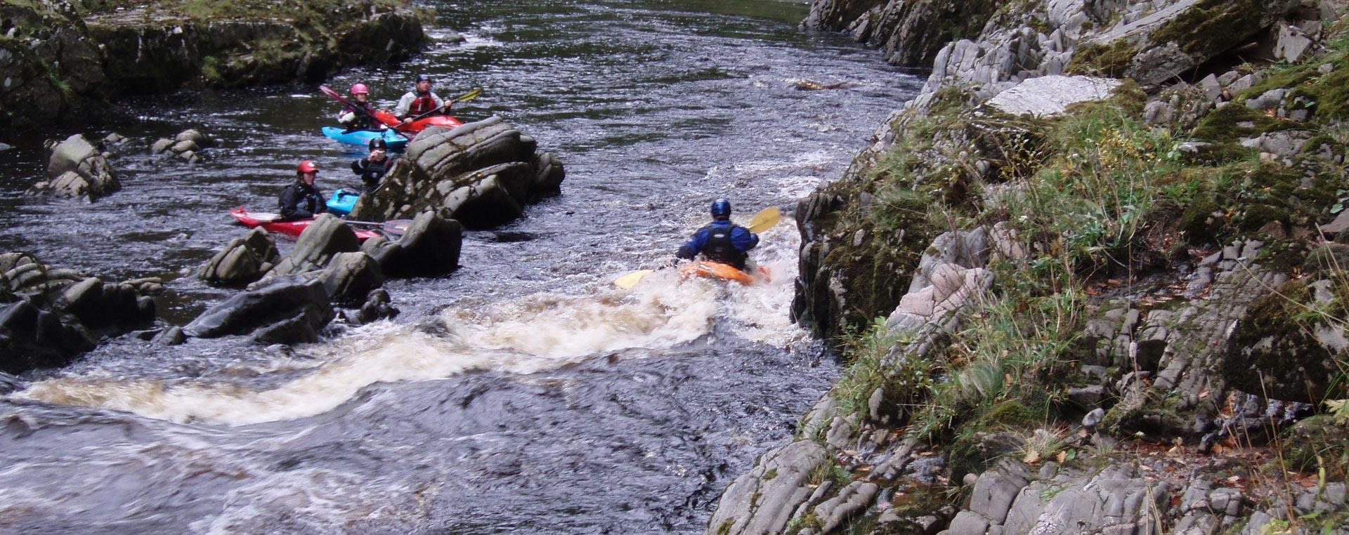river kayaking scotland