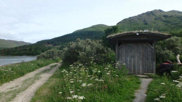 compost toilet inverie campsite