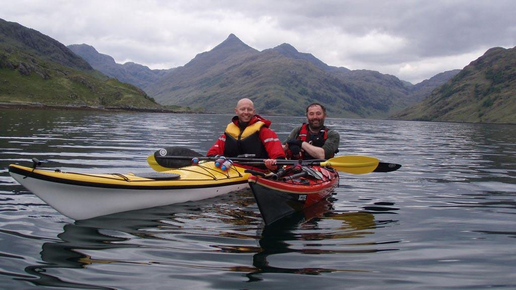 sea kayaking loch nevis