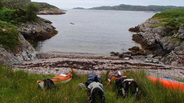 Landing Sea Kayaks