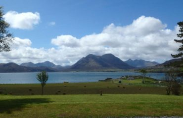 View from Raasay House
