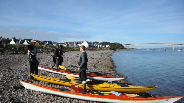 sea kayaking skye kyleakin