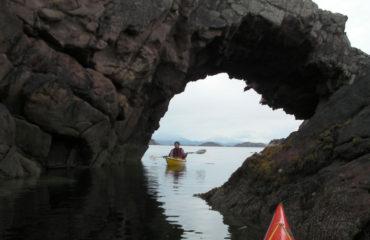 Narural Arch Kayaking