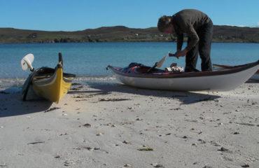 Packing the Kayaks