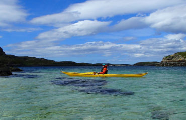 Sea Kayaking at Tannara Beag