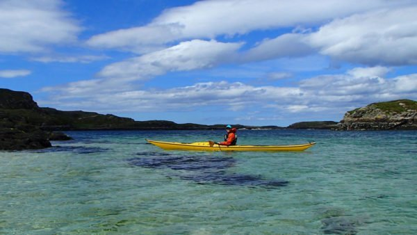 Sea Kayaking at Tannara Beag