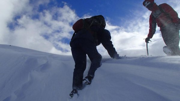 Climbing a Cornice