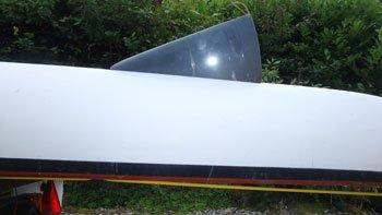sea kayak skeg centre down