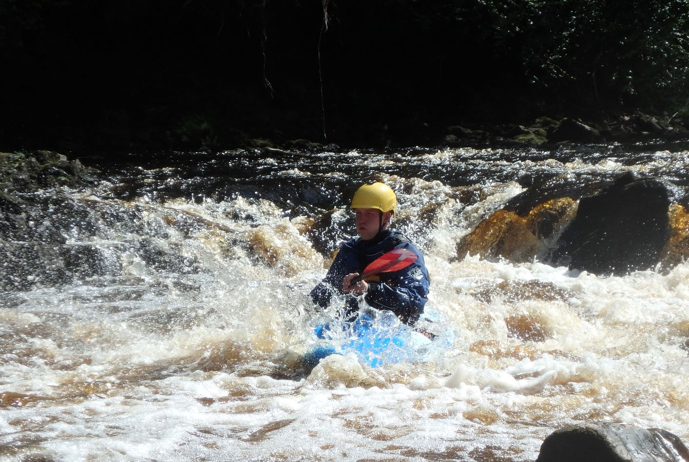 River kayaking assessment