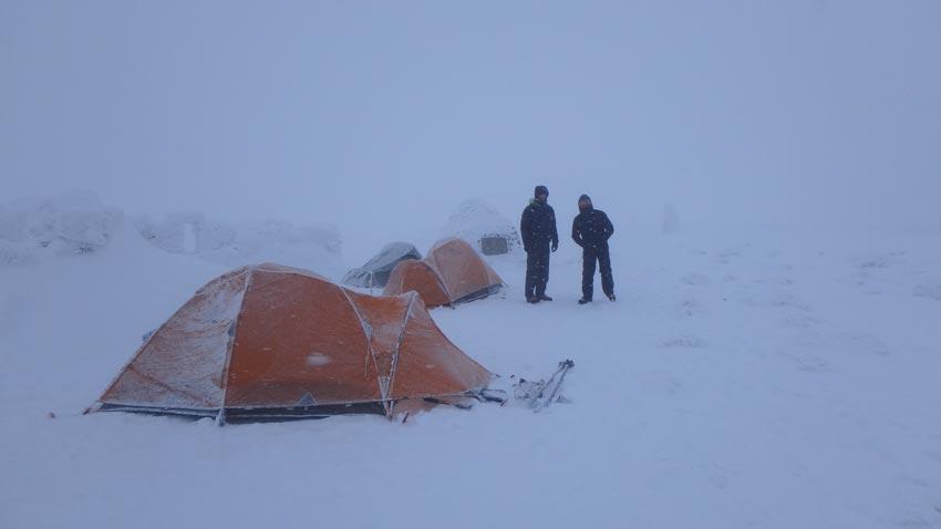 Ben Nevis Winter Camping