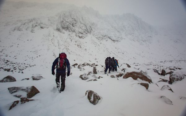 winter mountaineering course