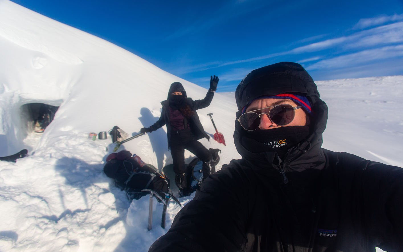 wnter mountaineering course