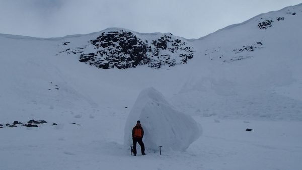Winter mountaineering avalanche awareness