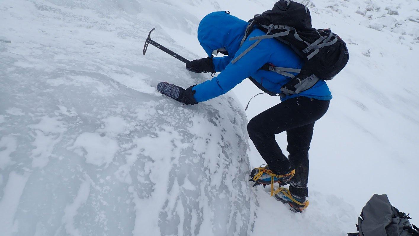 steep ice