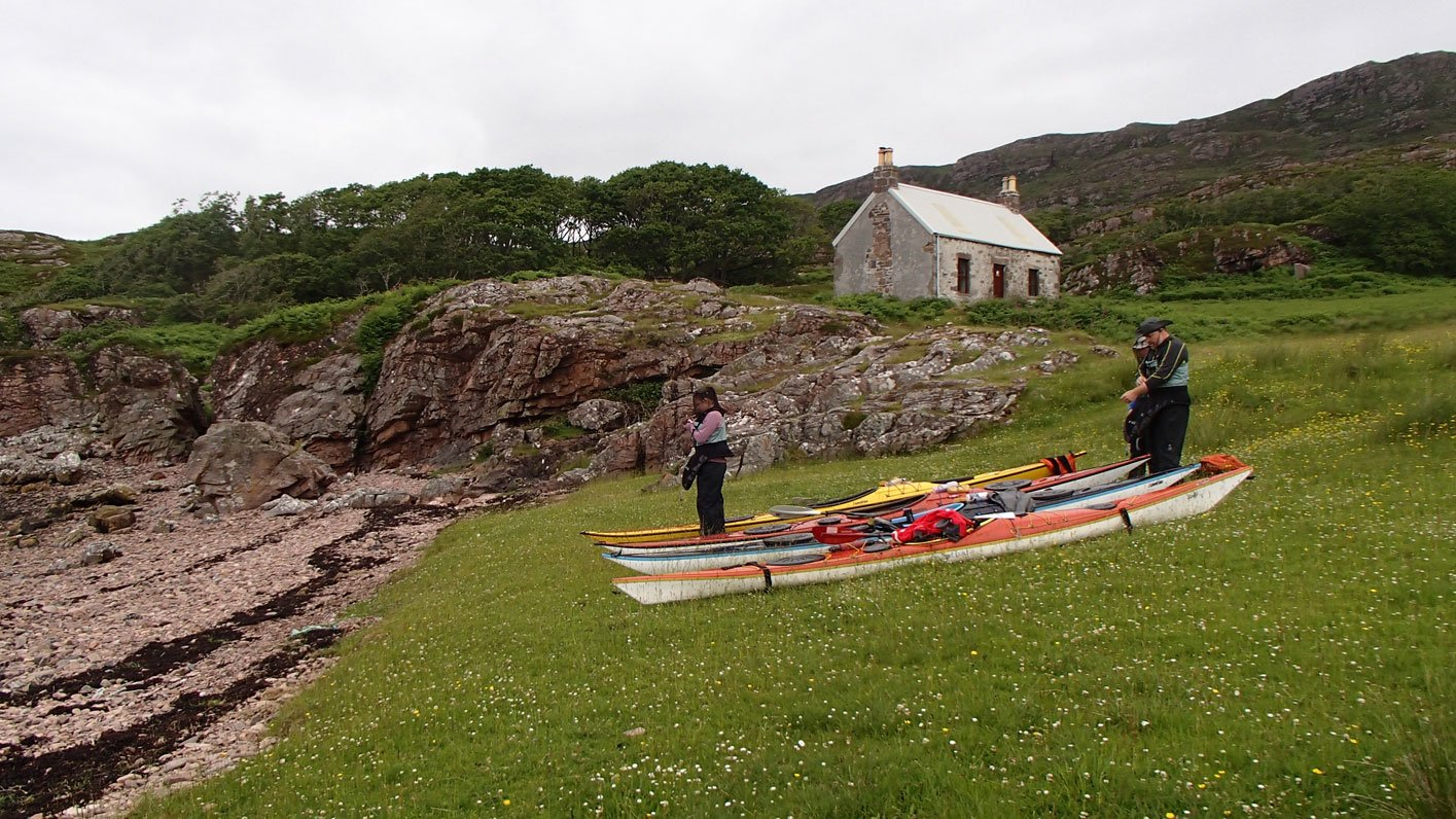 packing kayaks