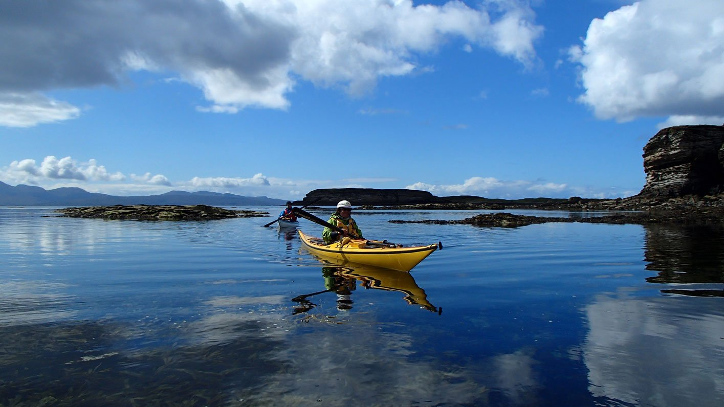 sea kayaking elgol