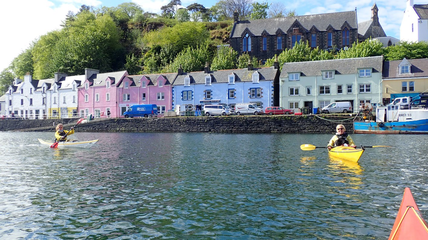 sea kayaking portree skye