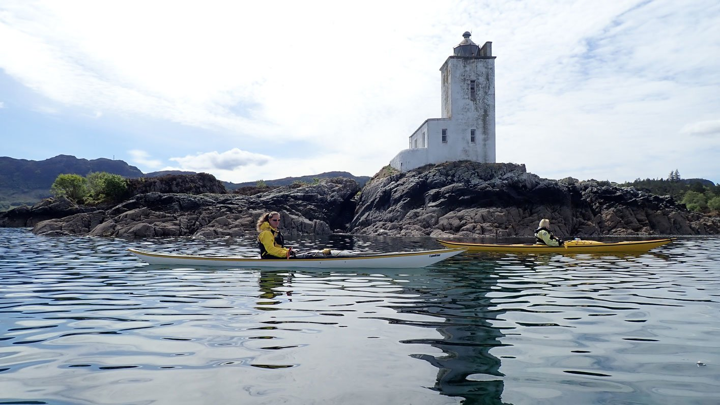 sea kayaking plockton
