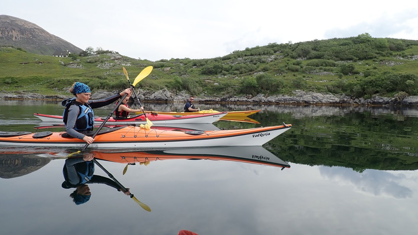 sea kayaking scotland