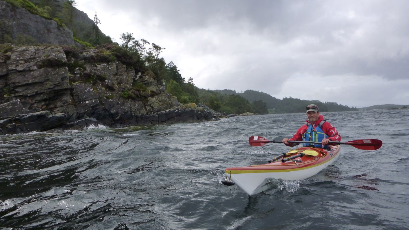 sea kayaking loch carron