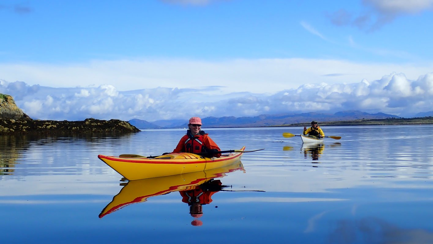 Sea Kayaking at Scalpay
