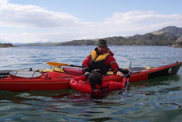 3 Star Sea Kayak Training Scotland