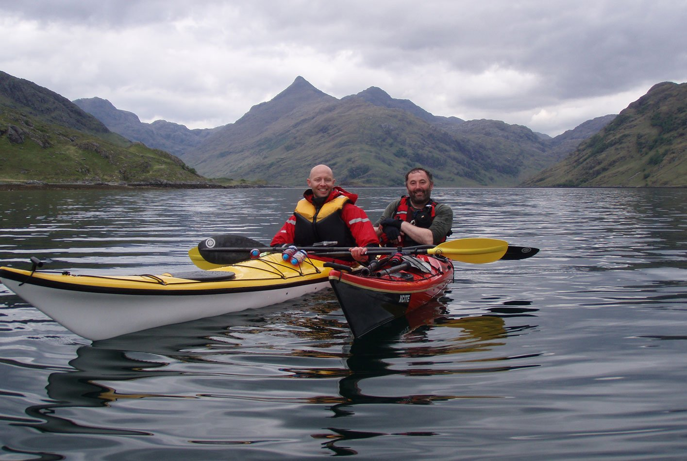 sea kayaking hillwalking knoydart scotland