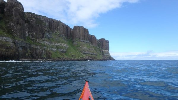 sea kayaking kilt rocks