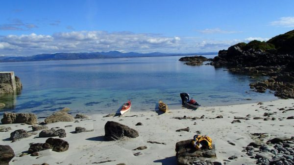 sea kayaking scotland sleat