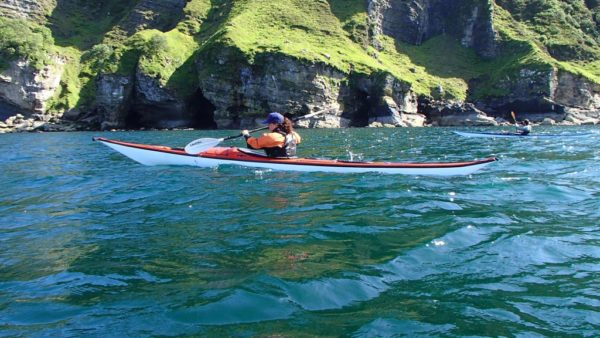 Sea kayaking near Portree