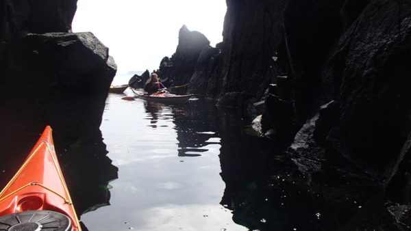 Sea caves near Staffin