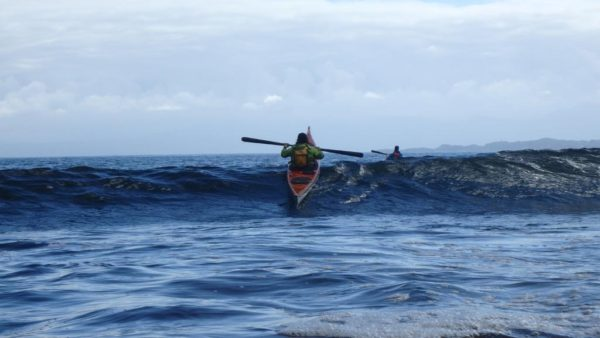 sea kayaking skye surf