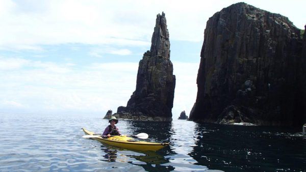 Sea stacks near Staffin