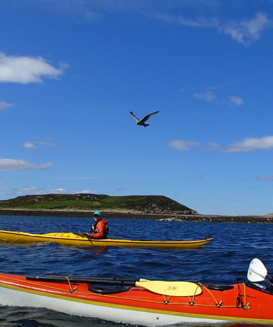 Sea kayaking Summer Isles