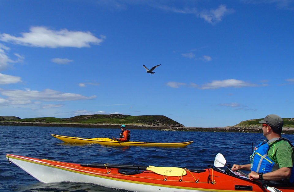 Sea Kayaking Summer Isles
