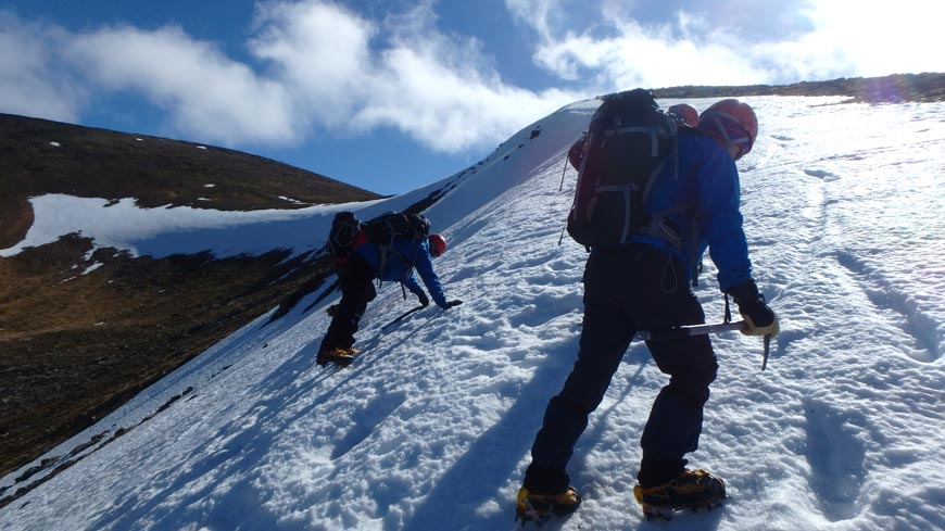 winter skills course april 2017