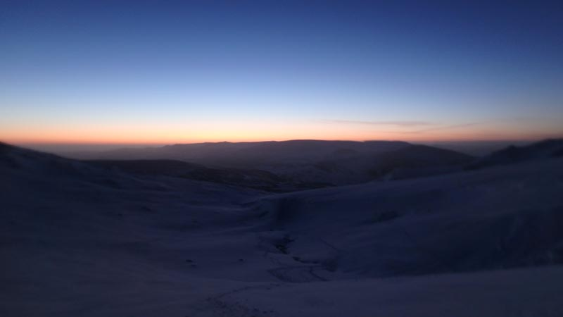 Sunrise from Cairn Gorm