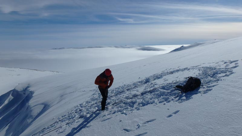 Winter Mountaineering inversions