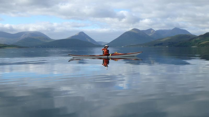 Sea kayaking Raasay