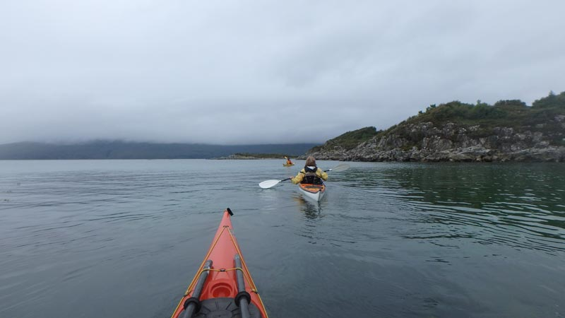Sea kayaking Kyle of Lochalsh