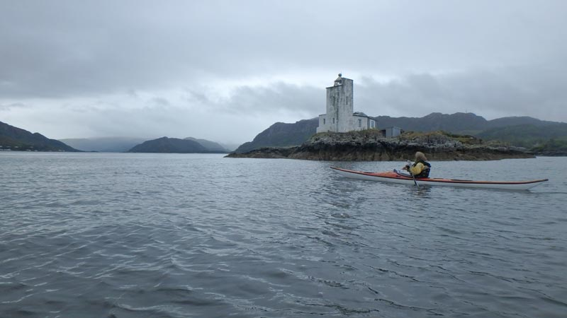 sea kayaking Lighthouse