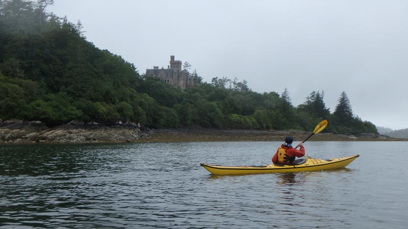 sea kayaking Duncraig Castle