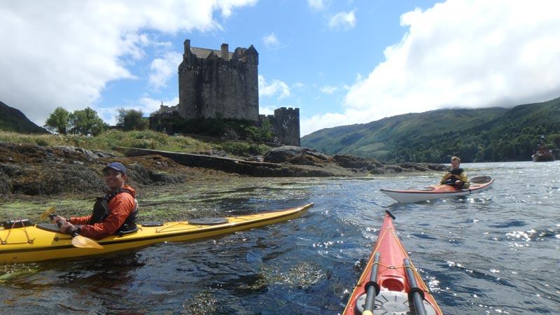 Sea Kayaking Eilean Donan