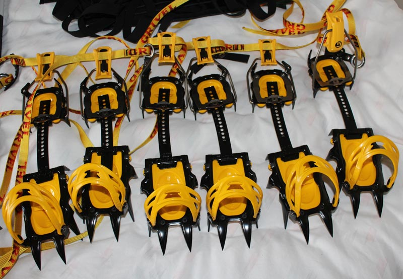 Grivel G12 crampons