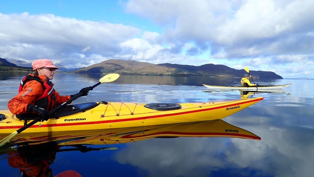 sea kayaking skye